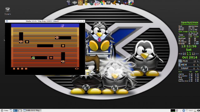 SparkyLinux (Gameover Edition)