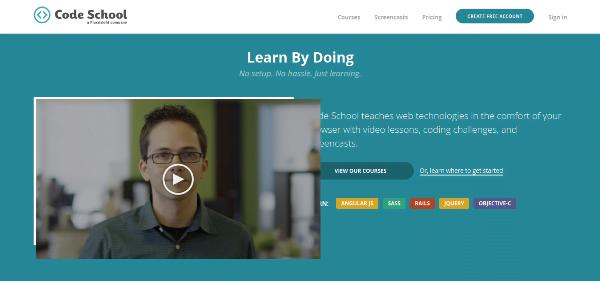 Learn to Code - Code School